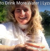 A Reminder to Drink More Water | Lyza Saint Ambrosena